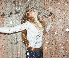 holiday, sequin, dream, glitter party, star, shower, new years eve, photo shoots, parti