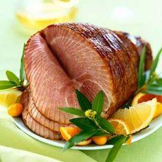Honey Orange-Glazed Ham