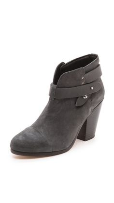 Rag and Bone leather Harlow booties in lots of colors