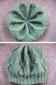 knit beanie Free pattern: http://desiknitter.com/wp-content/uploads/2008/05/rangolihatpattern3.pdf