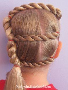 Tons of Little Girl hair do's!