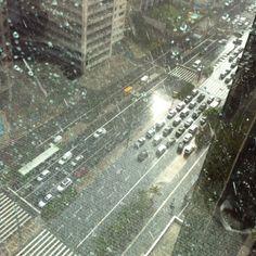 Rainy day at Paulista Ave. ♥