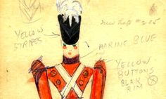 """Meet the man behind out """"Parade of the Wooden Soldiers"""" costume, Vincente Minnelli!"""
