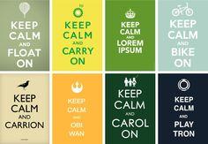 Keep calm and lorem ipsum