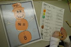 Little Warriors: Winter Math and Literacy Centers (+ can-dos)
