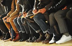 men in shoes