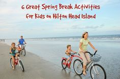 6 great spring break activities for kids on Hilton Head Island, Palmetto Dunes