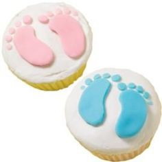 baby shower cupcakes baby shower cakes, baby shower cupcakes, baby shower ideas, shower baby, baby feet, themed cupcakes, baby shower parties, babi shower, baby showers