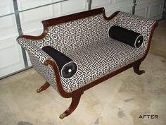 Duncan Phyfe-ish sofa
