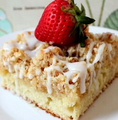 The PERFECT Crumb Cake