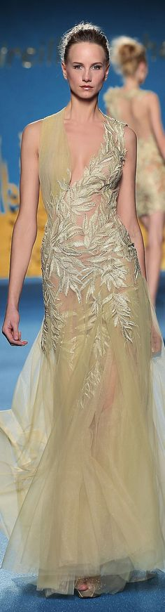 Mireille Dagher Couture S/S 2014 - pastel chic <3