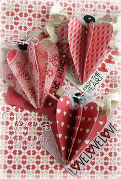 heart crafts, valentine crafts, valentine day crafts, christmas crafts, valentin craft