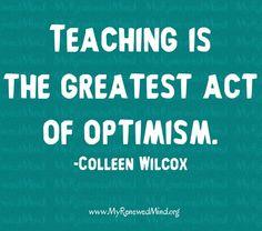 Teaching quote via www.MyRenewedMind.org