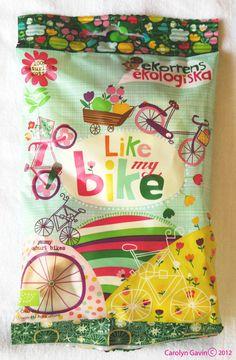 Organic Swedish Candy packaging - design by Carolyn Gavin...