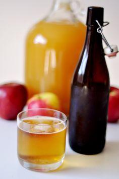 how to make homemade hard cider @ readymade