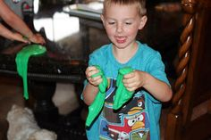 A Couple of Craft Addicts: Kids Craft-Spring Break Day 2 OOZE