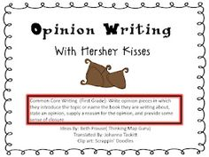 Hershey kisses grade fanat, classroom, idea, school, hershey kiss, oreo, opinion write, first grade, opinion writing