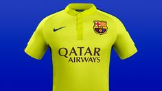 Nike Reveal 2014/15 Cup Shirts
