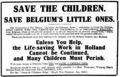 Working Men's Belgian Fund. 4 May, 1917.