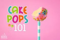 Everything you need to know about making cake pops! Cake Pops 101 by @ToniMillerMBC