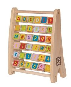 Hape Toys Alphabet Abacus $27.99 - from Well.ca