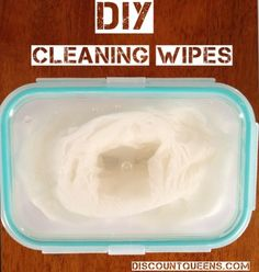 DIY: Cleaning Wipes!