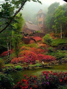Chapel in the Clouds, Costa Rica from Amazing world.