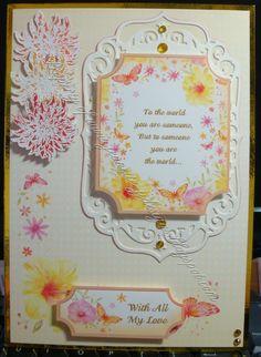 Summer/Spring jj design, card ideashunkydori, hunkydorey card, hunkydori card, card kit, latest card, mariann design