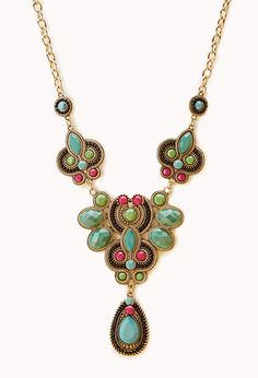 Worldly Bib Necklace | FOREVER21 - 1000126402
