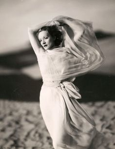 Marlene Dietrich, 1936, in a publicity shot for The Garden of Allah