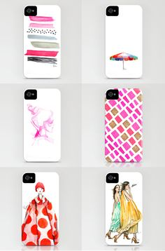 Newly launched Paperfashion iphone Cases for Society6