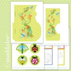 Free 5 Page Spring Printables ..