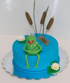 Kermit Birthday Cake