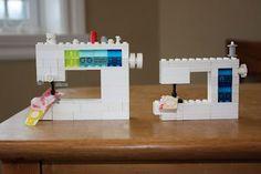 Cute Lego Elna Pro Quilting Queen sewing machine