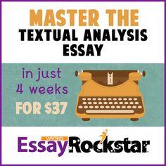 do textual analysis essay