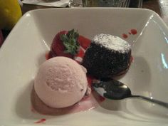 Chocolate Lava Cake recipe served at Liberty Tree Tavern at Disney World