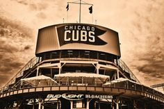 """#Wrigley Field """"Chicago Cubs Fans are 90% Scar Tissue."""" by oybay©, via Flickr"""