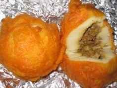 ☀ Puerto Rico ☀Rellenos de Papa - Recipe spanish food, mashed potatoes, stuf potato, puertorican