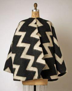 Coat Geoffrey Beene (American) ca. fall/ winter 1996 wool, silk