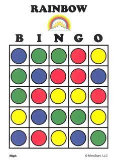 Bingo de los colores
