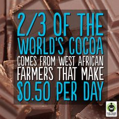 Remember: Choosing #FairTradeCertified chocolate directly impacts the lives of cocoa farmers. Together, we can make a difference! #ImprovingLives