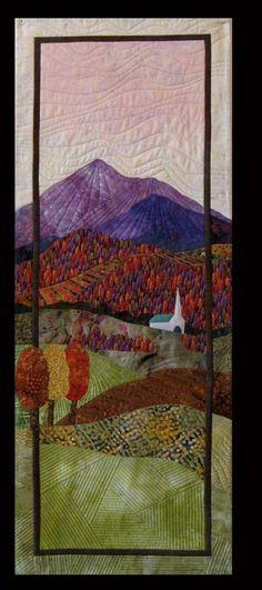balsam quilt, art quilt, quilt interest
