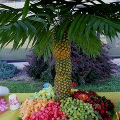 pool parties, palm tree, pineappl, pool aloha, fruit palm, grad parties, palms around pool