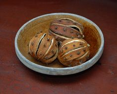 clove studded dried oranges