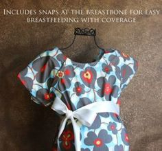 Hospital Gown Maternity.  Great baby shower gift for new mom!