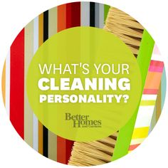 """Are you the """"Queen of Clean? Or a """"Don't Judge Me"""" Girl? Find out and get customized cleaning solutions. - From Better Homes and Gardens judg, the queen, hous, garden"""
