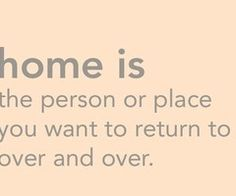 Homesick for a special someone right now...