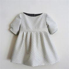 little dresses, party dresses, kids clothes, polka dots, 1950s style, kids fashion, future babies, baby dresses, little girl dresses