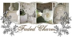 Faded  Charm-- Check out this blog.. I love her style.