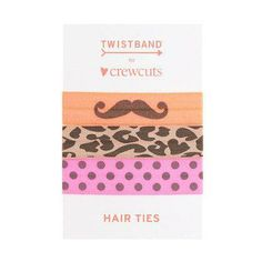 Twistband® for J.Crew print hair ties.